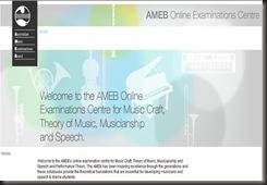 AMEB screenshot